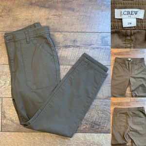 J CREW skinny ankle length trousers. Size 29.